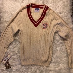 Vintage 49er knitted sweater NEVER WORN!!
